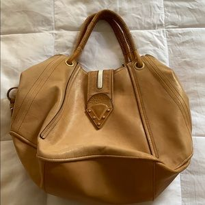 Pour La Victoire Tan Leather Bag